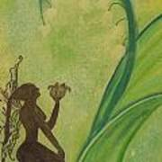 Lily Fairy Art Print