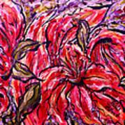 Lily Glow Art Print