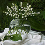 Lily-of-the-valley Bouquet Art Print by Luv Photography