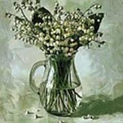 Lily Of The Valley Art Print by Vasiliy Agapov