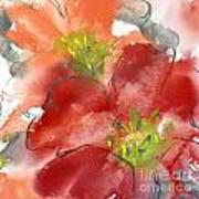 Lily Wisps II Art Print