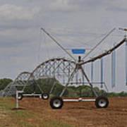 Limestone County Crop Irrigation Art Print