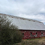 Limestone County Red Barn Art Print