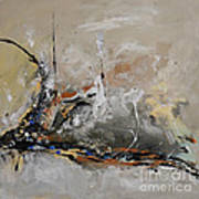 Limitless - Abstract Painting Art Print by Ismeta Gruenwald