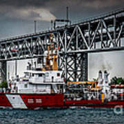 Limnos Coast Guard Canada Art Print