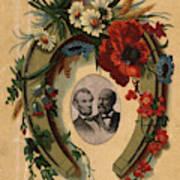 Lincoln And Garfield Art Print