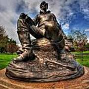 Lincoln At Delaware Park  Art Print