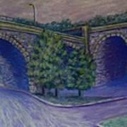 Lincoln Ave Bridge Pittsburgh Art Print