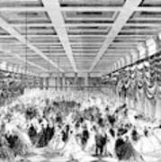 Lincoln Ball, 1865 Art Print