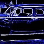 Lincoln In Neon Art Print
