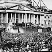 Lincoln Inauguration, 1861 Art Print
