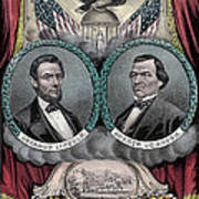 Lincoln Johnson Campaign Poster Art Print by Marvin Blaine