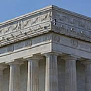 Lincoln Memorial Columns  Art Print by Susan Candelario