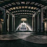 Lincoln Memorial Art Print by Eduard Moldoveanu
