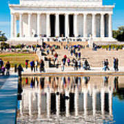Lincoln Memorial Art Print by Greg Fortier