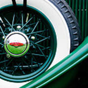 Lincoln Spare Tire Emblem Art Print