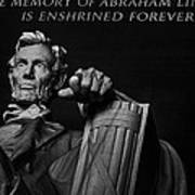 Lincoln The Legacy Of A President Art Print