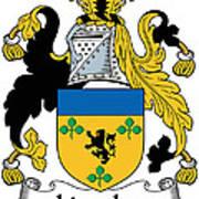 Lincolne Coat Of Arms Irish Art Print