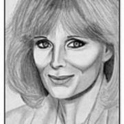 Linda Evans In 1984 Art Print