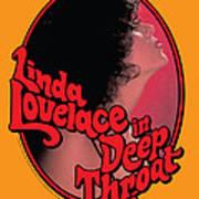 Linda Lovelace In Deep Throat Art Print