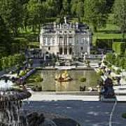 Linderhof And Royal Garden Art Print