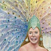Lindsay  Carnival Queen Art Print