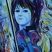 Lindsey Stirling Art Print by Anna  Duyunova