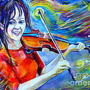 Lindsey Stirling Magic Art Print