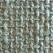 Linen Fabric Texture Art Print