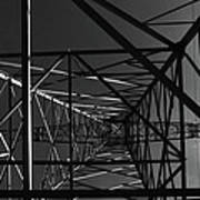 Lines And Angles Art Print