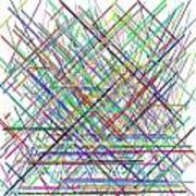 Lines.3 Art Print