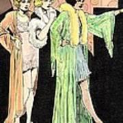 Lingerie Ladies Art Print