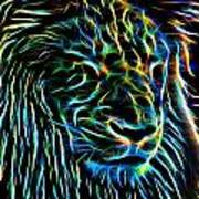 Lion - 1 Art Print