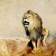 Lion Art Print by Heike Hultsch