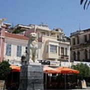 Lion Place Of Samos Art Print