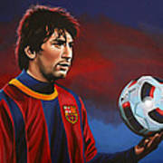 Lionel Messi 2 Art Print