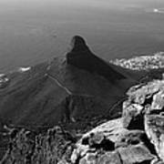 Lions Head - Cape Town - South Africa Art Print