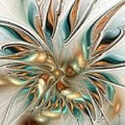 Liquid Flame Art Print