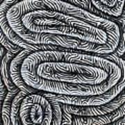 Liquid Waves Art Print