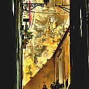Lisbon Alley Art Print