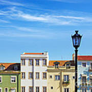 Lisbon Houses Art Print