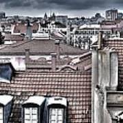 Lisbon Rooftops I Art Print