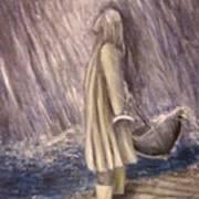 Listen To The Rhythm Of The Falling Rain.. Art Print