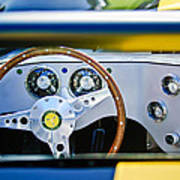 Lister Steering Wheel Art Print