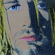 Literally Kurt Cobain Art Print