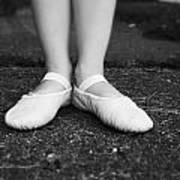 Little Ballerina Feet Art Print