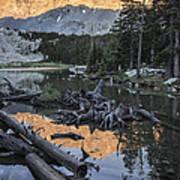 Little Bear Peak Reflection Art Print