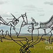 Little Bighorn Battlefield Art Print