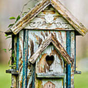 Little Birdhouse Art Print