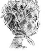 Little Boy Art Print